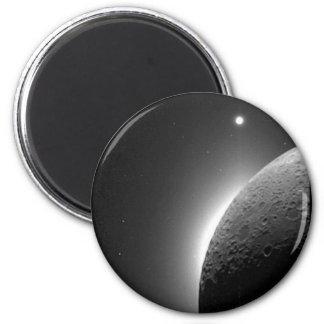 Aimant L'image magnifique de la NASA, la lune s'est