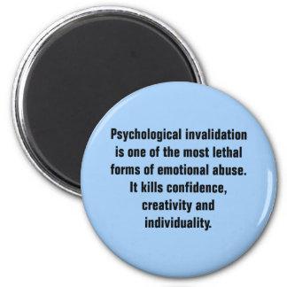 Aimant L'invalidation psychologique est l'une des la