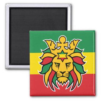 Aimant Lion de Rastafari de Judah