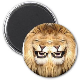 Aimant Lion heureux Trippy