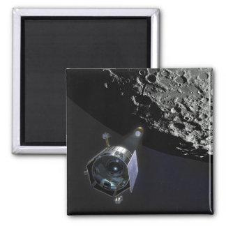 Aimant L'observation de cratère lunaire
