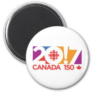 Aimant Logo 2017 de CBC/Radio-Canada