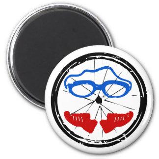 Aimant Logo artistique frais de triathlon