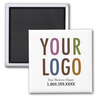 Aimant Logo fait sur commande d'affaires d'aimant carré