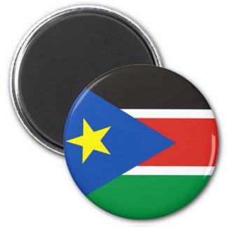 Aimant long symbole de nation de drapeau de pays du sud