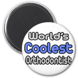 Aimant L'orthodontiste le plus frais du monde
