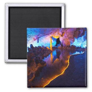 Aimant Lumières en caverne tubulaire de cannelure, Chine