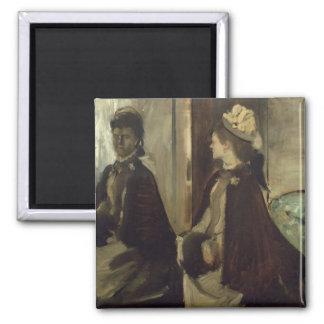 Aimant Madame Jeantaud d'Edgar Degas   dans le miroir