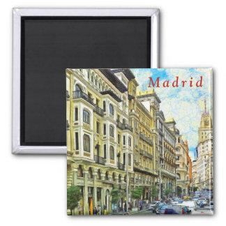 Aimant Madrid. Architecture de mamie Vía.