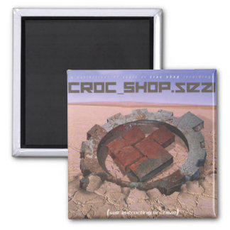 "Aimant MAGASIN ""meilleur de CROC"" de couverture CD"