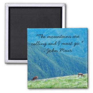 Aimant Mâles par les montagnes