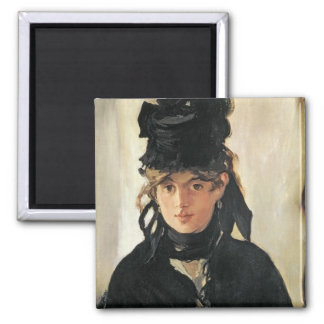 Aimant Manet   Berthe Morisot avec un bouquet des