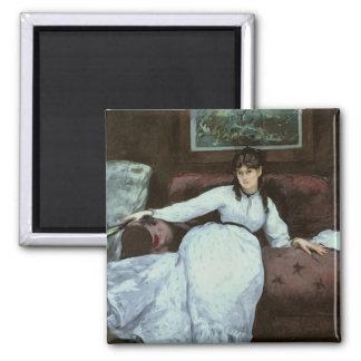 Aimant Manet | le repos, portrait de Berthe Morisot
