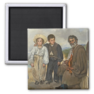 Magnets aimants gitan for Devant le miroir manet
