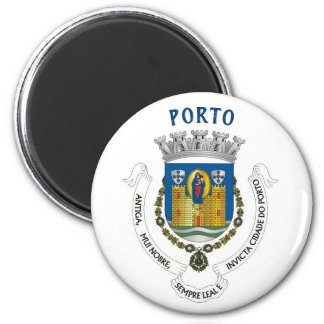 Aimant Manteau de ville de Porto d'aimant de bras