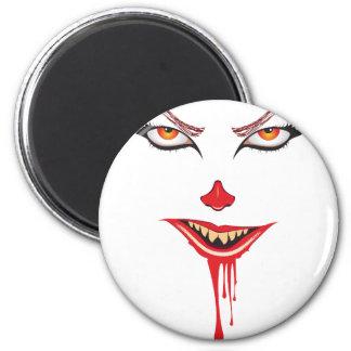 Aimant Maquillage éffrayant de Halloween