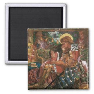Aimant Mariage de St George, princesse Sabra par Rossetti