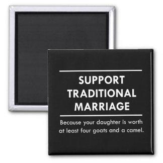 Aimant Mariage traditionnel de soutien