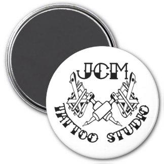 Aimant marqué par studio de tatouage de JCM