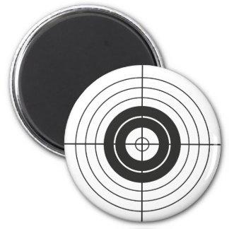 Aimant marque ronde de conception de cercle de cible