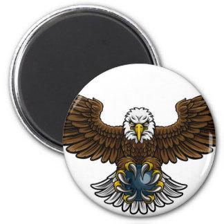 Aimant Mascotte de roulement de sports d'Eagle