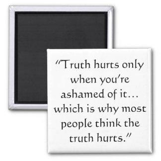 Aimant Maux de vérité