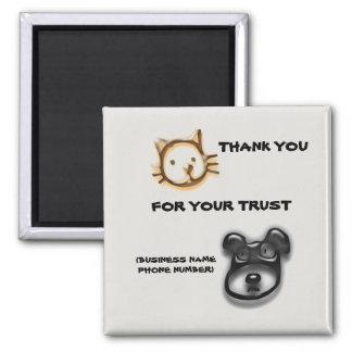 Aimant Merci animal d'hôpital de vétérinaire de clinique