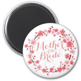 Aimant Mère de l'aimant de mariage de fleurs de cerisier