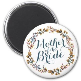 Aimant Mère de l'aimant élégant du mariage | de jeune