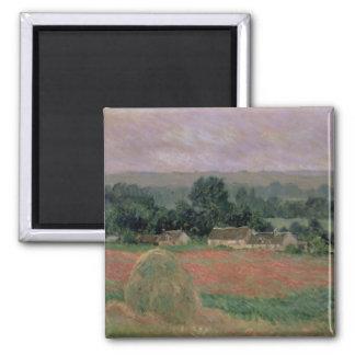 Aimant Meule de foin de Claude Monet | chez Giverny, 1886
