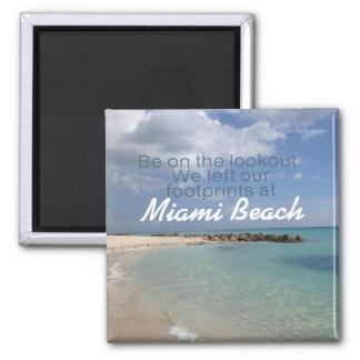 Aimant Miami etc. de souvenir de voyage de