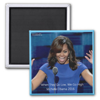 "Aimant Michelle Obama ""nous passons à 1"" collectable"