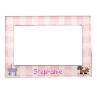 Aimant mignon de cadre de tableau de bébé cadres photo magétiques