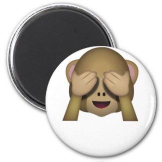 Aimant Mignon ne voir l'aucun singe mauvais Emoji