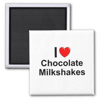 Aimant Milkshakes de chocolat