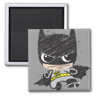 Aimant Mini croquis classique de Batman