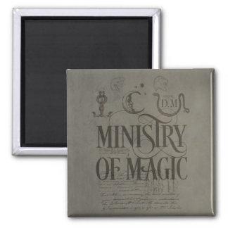Aimant MINISTÈRE du charme | de Harry Potter de MAGIE
