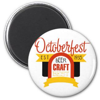 Aimant Modèle de conception de logo d'Oktoberfest