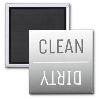 Aimant moderne de lave-vaisselle d'Ombre de gris