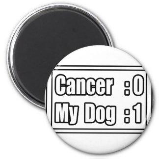 Aimant Mon Cancer de battement de chien (tableau