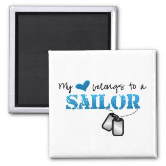 Aimant Mon coeur appartient à un marin