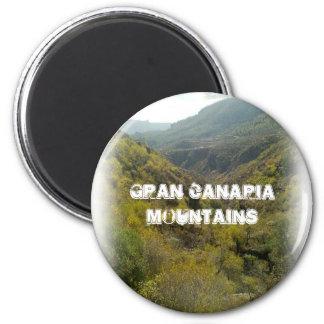 Aimant Montagnes 001 de Canaria de mamie