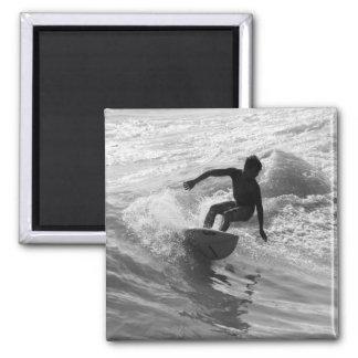 Aimant Monte de la gamme de gris de vague