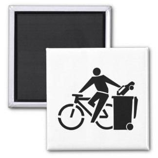 Aimant Montez un vélo pas une voiture