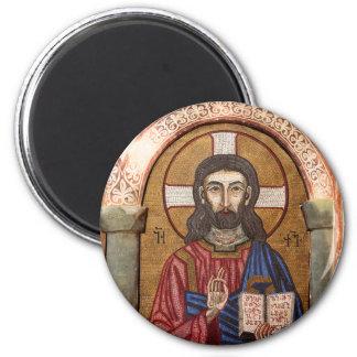 Aimant Mosaïque antique de Jésus
