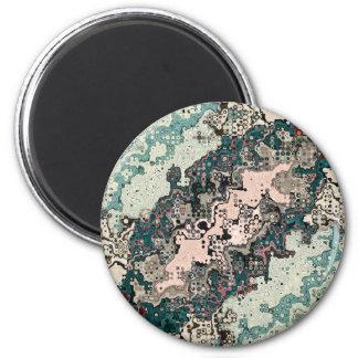 Aimant Motif coloré 1 de textures