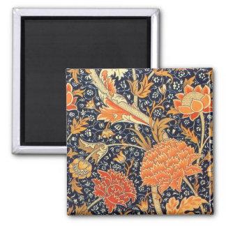 Aimant Motif floral de Nouveau d'art de William Morris