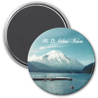 Aimant Mt. St Helens--Avant rond