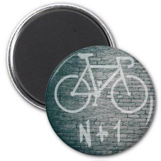 Aimant N+1 graffiti de vélo
