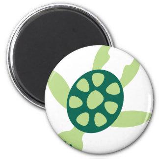 Aimant Natation de tortue verte
